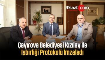 Çayırova Belediyesi, Kızılay İle İşbirliği Protokolü İmzaladı