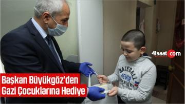Gebze Belediye Başkanı Büyükgöz'den Gazi Çocuklarına Hediye