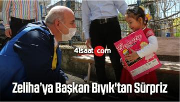 Kocaeli'de 5 Yaşındaki Zeliha'ya Başkan Bıyık'tan Sürpriz