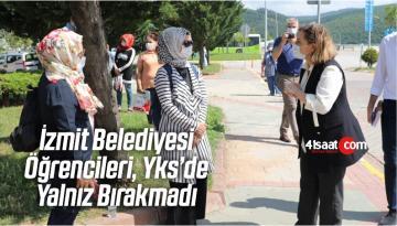 İzmit Belediyesi Öğrencileri, Yks'de Yalnız Bırakmadı