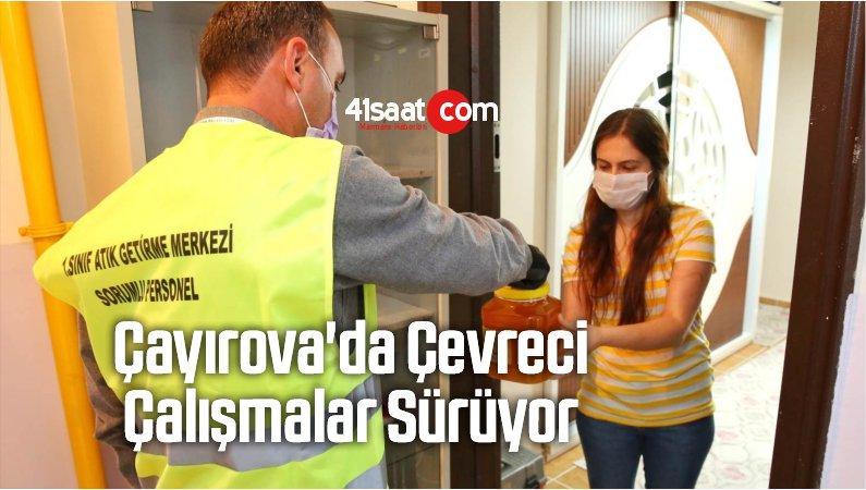Çayırova'da Çevreci Çalışmalar Sürüyor