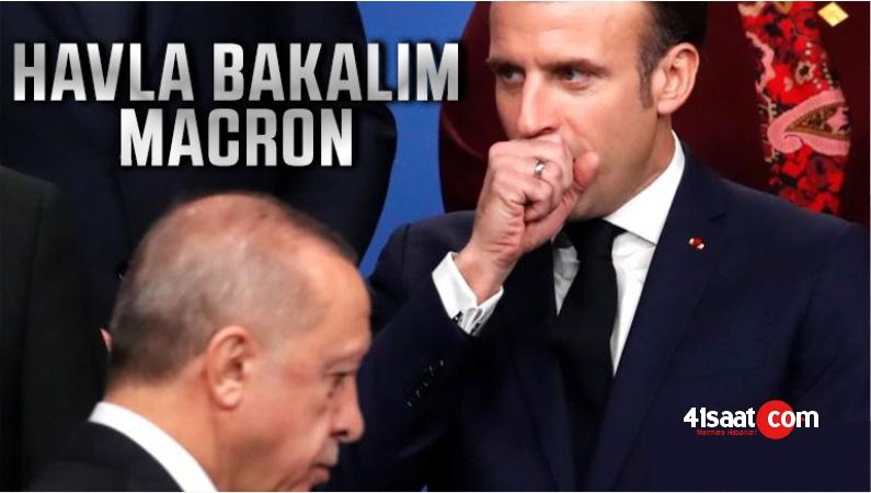 """Cemil Duymaz Yazdı! """"Havla Bakalım Macron!"""""""