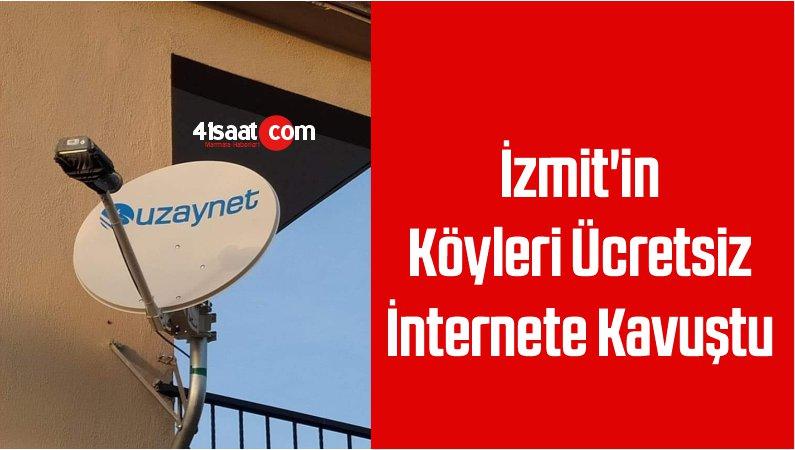 İzmit'in Köyleri Ücretsiz İnternete Kavuştu
