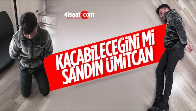 Ankara'da Ümitcan Uygun Kaçmaya Çalışırken Yakalandı