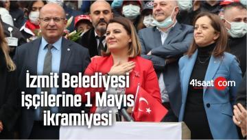 İzmit Belediyesi İşçilerine 1 Mayıs İkramiyesi