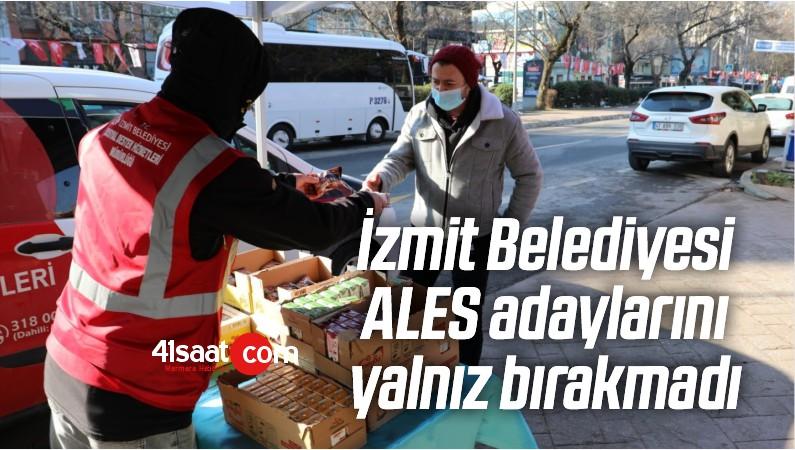 İzmit Belediyesi ALES Adaylarını Yalnız Bırakmadı
