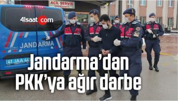 Jandarma'dan PKK'ya Ağır Darbe