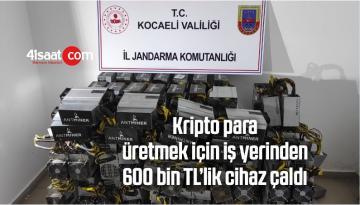Kripto Para Üretmek İçin İş Yerinden 600 Bin TL'lik Cihaz Çaldı