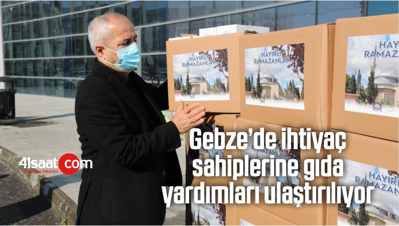 Gebze'de İhtiyaç Sahiplerine Gıda Yardımları Ulaştırılıyor