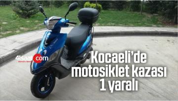 Kocaeli'de Motosiklet Kazası: 1 Yaralı