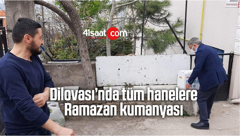 Dilovası'nda Tüm Hanelere Ramazan Kumanyası