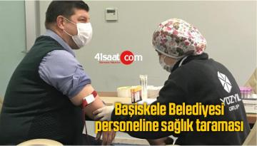 Başiskele Belediyesi Personeline Sağlık Taraması