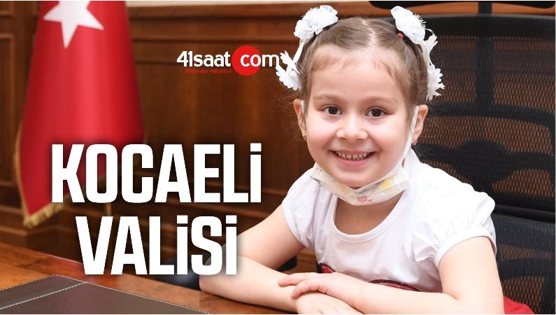 Kocaeli Valisi Seddar Yavuz, 23 Nisan dolayısıyla makamını temsili olarak devretti