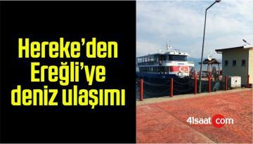 Hereke'den Ereğli'ye deniz ulaşımı