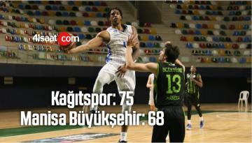 Kağıtspor: 75 – Manisa Büyükşehir : 68