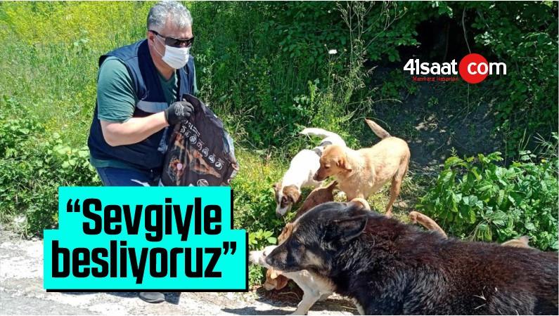 """Kocaeli Büyükşehir Belediyesi, """"Sevgiyle Besliyoruz"""""""