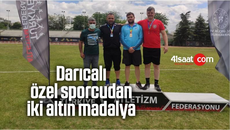 Darıcalı Özel Sporcudan İki Altın Madalya