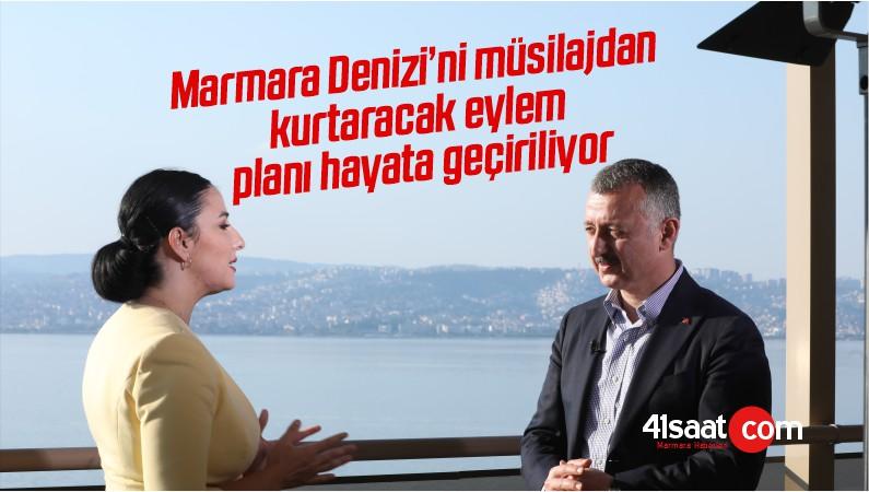 Marmara Denizi'ni müsilajdan kurtaracak eylem planı hayata geçiriliyor