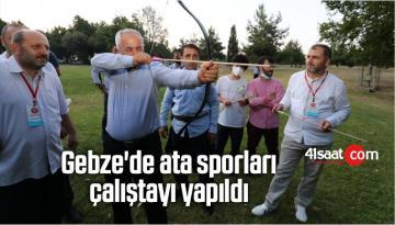 Gebze'de ata sporları çalıştayı yapıldı