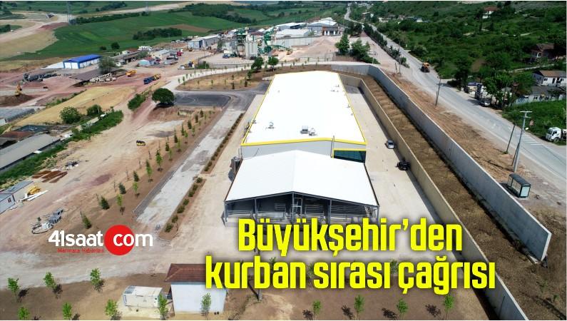 Kocaeli'de Kocaeli Büyükşehir'den kurban sırası çağrısı