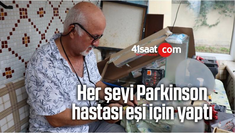 Her Şeyi Parkinson Hastası Eşi İçin Yaptı