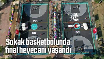 Sokak Basketbolunda Final Heyecanı Yaşandı