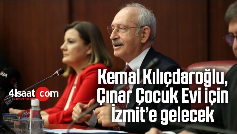 Kemal Kılıçdaroğlu, Çınar Çocuk Evi İçin İzmit'e Gelecek