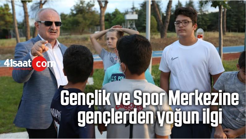 Gençlik Ve Spor Merkezine Gençlerden Yoğun İlgi